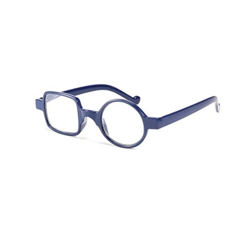 Yefree Lesebrille Mode Irregulär Brille Voll Rahmen Lesen BrilleUnisex
