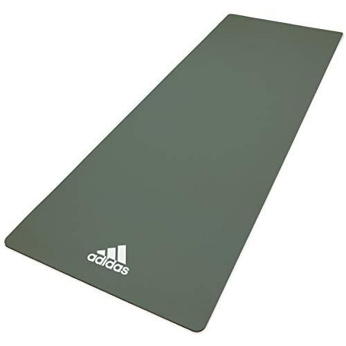 adidas, Tappetino Yoga Unisex-Adult, Verde Crudo, 8 mm