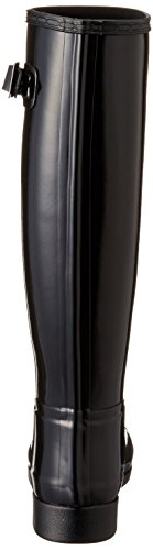 Hunter Original Refined Gloss Femme Boots Noir Black