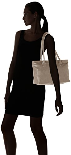 Tamaris - Louise Shoulder Bag /Pack 4 Pcs, Borse a spalla Donna Grigio (Pewter)