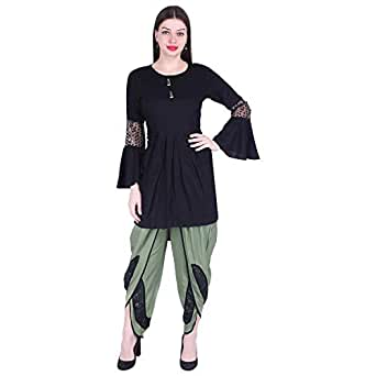 A.S. Creation Women's Rayon Salwar Suit