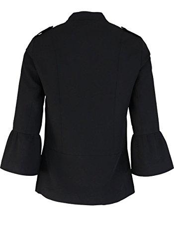 ONLY Blazer Arm Stehkragen seitliche Taschen schwarz Abbildung 2