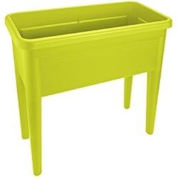 Elho Green Basics Table De Culture Xxl - Planteur - Lime Vert - Extérieur - L 36.5 x W 75.5 x H 65.1 cm
