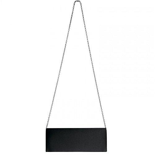 CASPAR Taschen & Accessoires, Poschette giorno donna plateado glamour
