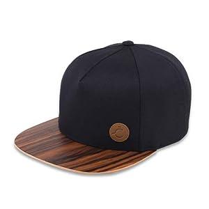 Kappe, Cap,Hat, Snapback, Kappe, Santos Wood Brim, 5panel