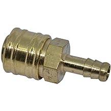 Rectus Druckluft Schnellkupplung Druckluftkupplung mit Schlaucht/ülle 6 mm