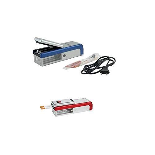 Les Colis Noirs LCN - Tubeuse électrique Double - Machine Rouler Tabac Cigarette 371