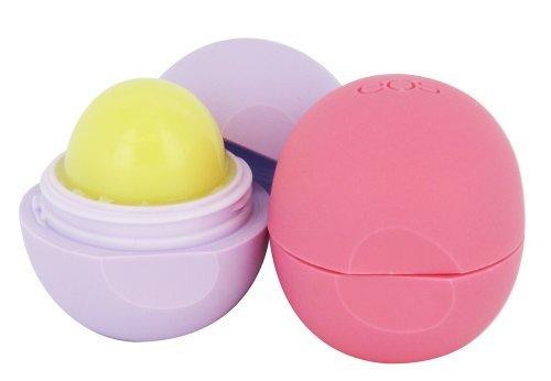 Fruit Lip Balm (EOS Spring Lip Balm Set, Passion Fruit/Strawberry Lip Balm Sphere)
