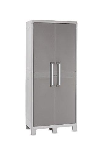 Toomax 079E Utility Cabinet Urban XL Lichtgrau/Taubengrau 78 x 49 x 182 cm