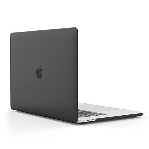 Book Pro 13 2016 - Schlank Matte Harte PC Schale Schützhülle Case Cover Etui für das neue Apple MacBook Pro 13 Zoll A1706 / A1708 2017/ 2016, Translucent Schwarz (Neue Macbook Pro Ladegerät)