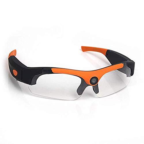 YDXYZ Weitwinkelobjektiv Weitwinkelobjektiv Sonnenbrille Full HD- und 135-Grad-Action-Cam-Sport-Sonnenbrille (Color : A)