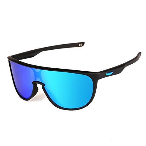 Daawqee Gafas de sol,Gafas para fiestas,Fashion Sunglasses Polarized Lens Men Women Sports Sun Glasses Trend Eyeglasses Male Driving Eyewear 9102 VR46 TRILLBE 2a