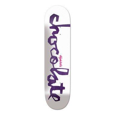 Chocolate Original Chunk Skateboard Deck - Berle 8.5