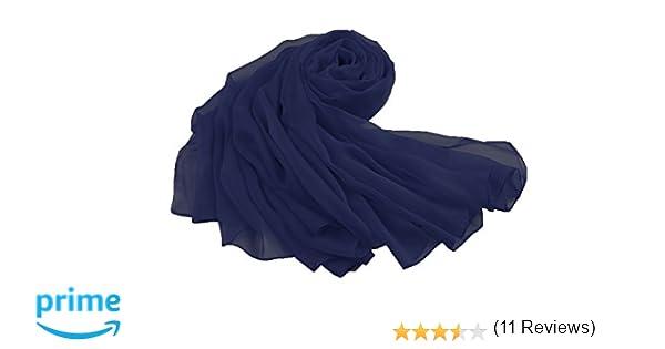 99538564cb4 FLORA mousseline de soie longue étole écharpe Châle Foulard