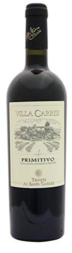 """Primitivo Salento IGP """"Villa Carrisi"""" - Tenute Al Bano Carrisi, Cl 75"""