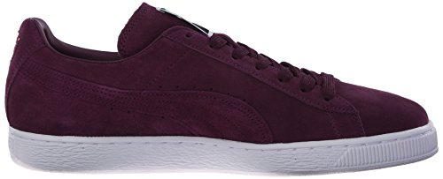 Puma Classic Wedge L, Baskets Italiennes Prune / Blanches Pour Homme