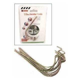 Amazing (Pkg 10) 40LB Wall Hooks. Great for Pictures, Planters, Mirrors and More! by American Science & Surplus