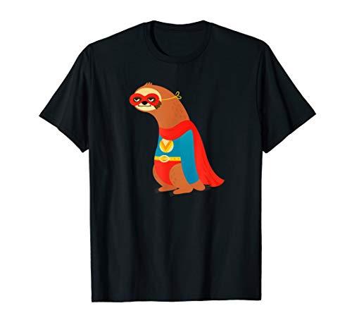 Frauen Kostüm Faultier - Faultier Superheld Kostüm T-Shirt