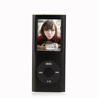 Captcha 7 in 1 Portable 4th Generation MP4 Player with Video/Audio Player+FM Radio+Memory Card Support+Voice Recorder+E-book Reader+Image Viewer