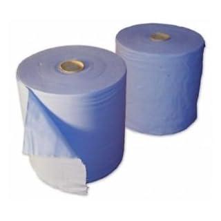 Putztuchrollen, Handtuch, 2-lagig, 130m, blau