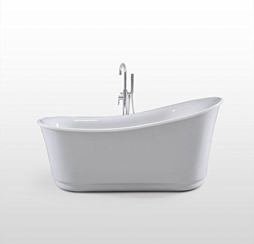 Luxus Design Badewanne Freistehende Wanne OXFORD aus hochwertigem Acryl178x88x83 cm Made in EU