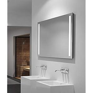 LED Badspiegel Talos Light 100x 70 cm- Lichtfarbe 4200K -  Modernes Design und hochwertige Beschichtung
