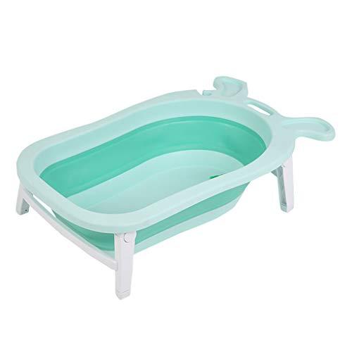 Bebé Tina De Baño Caja De Baño Almacenaje Bandeja De Baño Soporte De Baño Estera De Baño Plegable...
