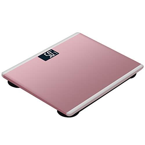 MTFZD Hoch Richtigkeit Digital Gewicht Waage, Mit Temperiertem Glas Plattform Elektronisch Waage 180kg Kapazität Schritt Auf Technologie LCD Hintergrundbeleuchtung Anzeige