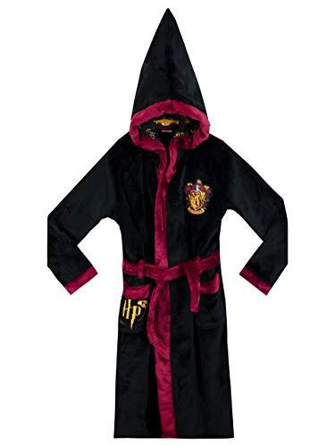 Harry Potter - Gryffindor -Bata niños - Negro 7-8