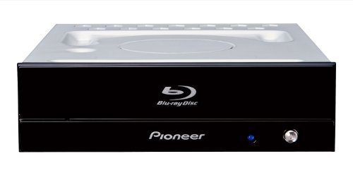 Pioneer 16x BDR-S11J-BK Blu-ray Brenner, Ultra-HD 4K, UHD/BD/DVD/CD-Laufwerk, intern