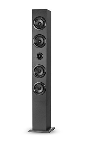 Elbe TW402BT - Torre de Sonido Multifunción con Bluetooth, 40 W, USB/SD/MP3,...