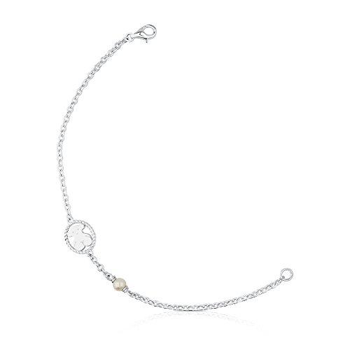 5d3570193204 Pulsera TOUS Camee plata primera ley perlas - Longitud