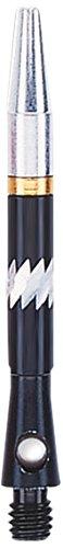 Einhorn Unisex Ali 360Aluminium Schaft, kleines Gewinde, schwarz, 35mm (Flight Case Klein)