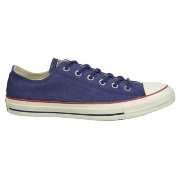 Converse - Chuck Taylor All Star Washed Canvas Ox Schuhe Victorian Blue