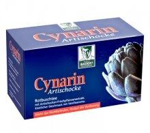 BADERS Cynarin Artischocke de la pharmacie. Thé rooibos cynarine artichaut. Apporte du bien-être, stimule la digestion. 20 sachets.