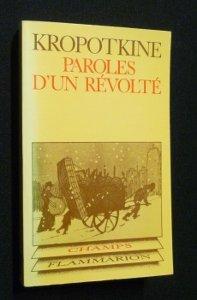 Paroles De Revolte - Paroles d'un révolté
