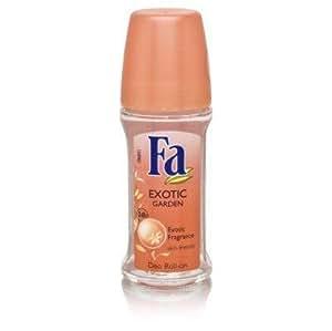 Fa Deodorant Roll-On Exotic Garden Exotic Fragrance Deodorants and Antiperspirants
