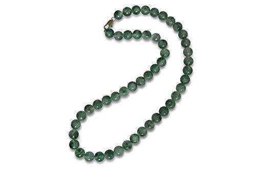 Achat Halskette, Moos Achat, natürlich, rund, 6mm (Halskette Moos-achat)