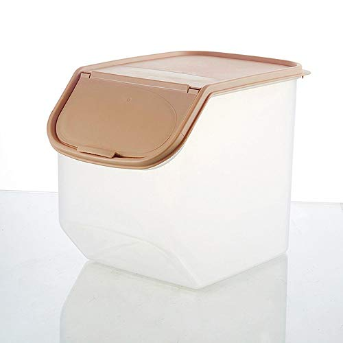 Yao Kitchen Storage Organizer Rice Bin Bean Grain Container Organizer Storage Box Coffee