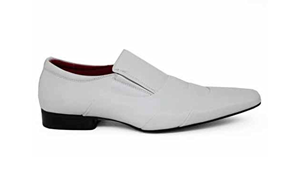 Smart White Dress Formal Shoes Size