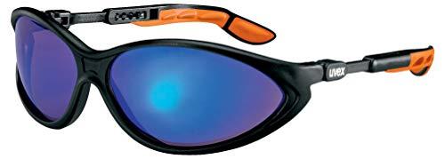 Uvex Cybric Blau Verspiegelte Schutzbrille - Scheibe mit Starkem Blendschutz