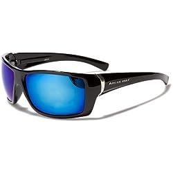 Arctic Blue Unisex Sonnenbrillen (Mit Brillenetui / Vault) - Sport - Radfahren - Skifahren - Laufen - Autofahren (Bluetech Lense Technologie)