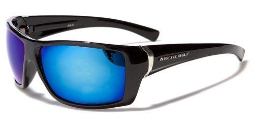 Sonnenbrille Blues (Arctic Blue Unisex Sonnenbrillen (Mit Brillenetui / Vault) - Sport - Radfahren - Skifahren - Laufen - Autofahren (Bluetech Lense)