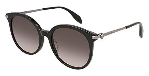 Alexander mcqueen occhiali da sole am0135s // 001-black-ruthenium-grey