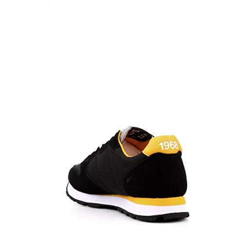Sun68 Z29101 Sneakers con Lacci in CAMOSCIO E Tessuto da