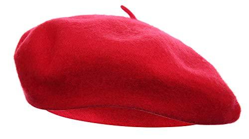 dressfan Boina Francesa para Mujeres Niñas otoño Invierno Boina Sombrero Lana Calabaza Sombreros Ladie otoño Invierno Elegante