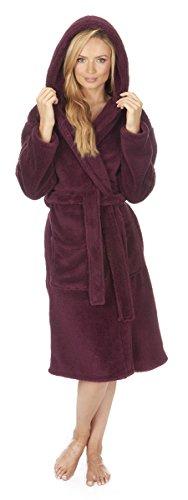 Varsani Clothing - Robe de chambre - Femme Bordeaux