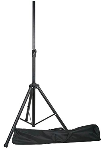 E-Lektron SPST-1 Boxenständer inkl. Tragetasche Lautsprecherständer für Lautsprecher Boxen mit...