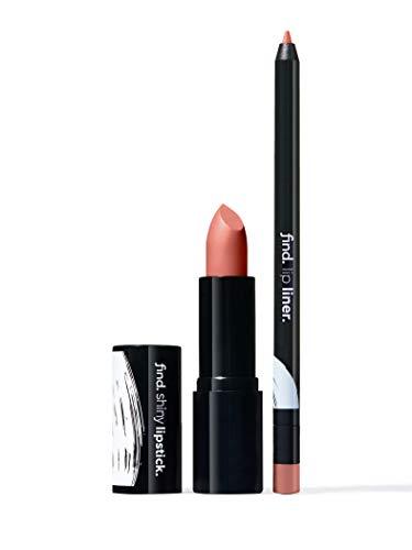 FIND - Absolute Elegance (Lippenstift, glänzend n.2 + Lippenkonturstift n.1)