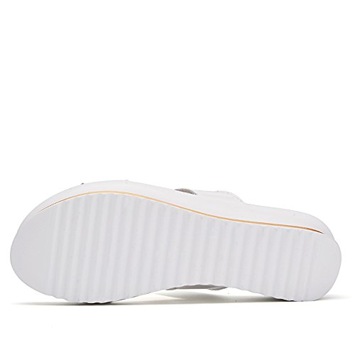 TMKOO Chaussures blanches et confortables confortables Blanc